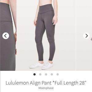 Lululemon align